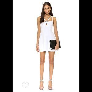 BCBGmaxAzria Charlot wht Dress 10